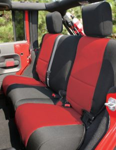 jeep wrangler with neoprene setup